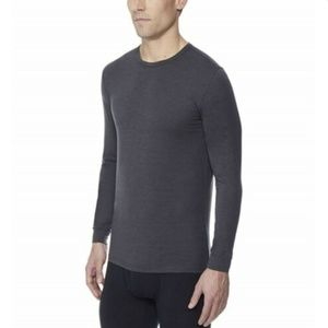 32 Degrees Shirts - 32 Degrees Heat Men's Long Sleeve Base Layer Crew